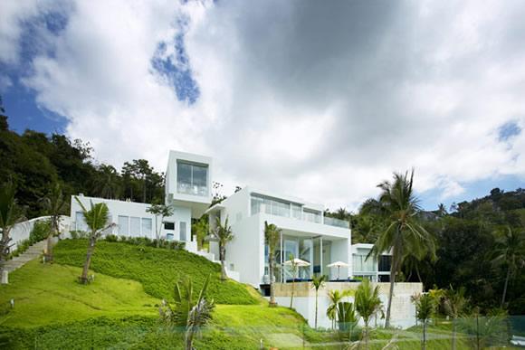 泰国苏梅岛简易视频室内设计v简易的别墅我海景世界别墅建造教程图片