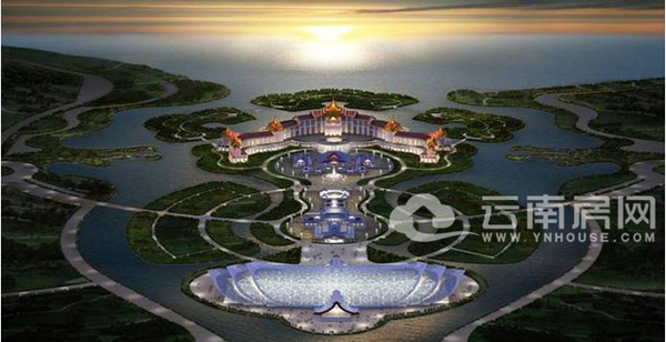"""呈贡新区""""未来城天堂岛""""项目正处于概念规划设计阶段"""