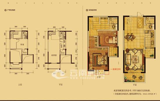 六间楼房电路布线图纸