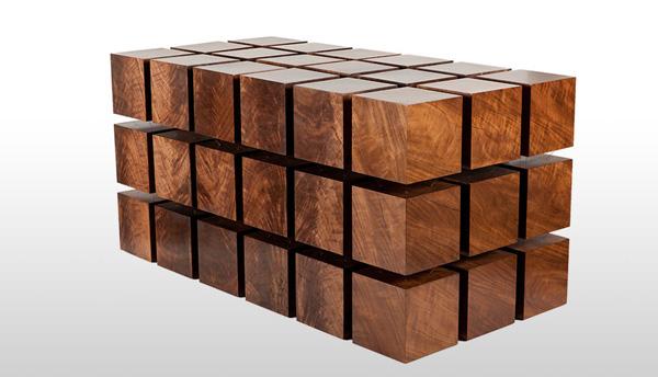 个正方形木块