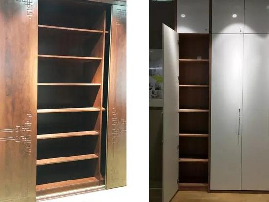好看的衣柜很多 好用的衣柜重在结构